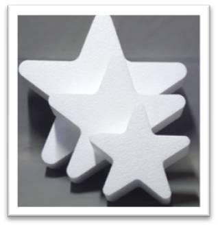 星型発泡スチロール