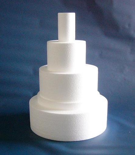円柱・円すい型発泡スチロール