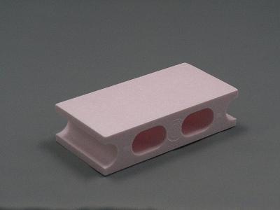 ピンクのカラーブロック