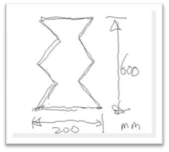 壺型発泡スチロール 図面