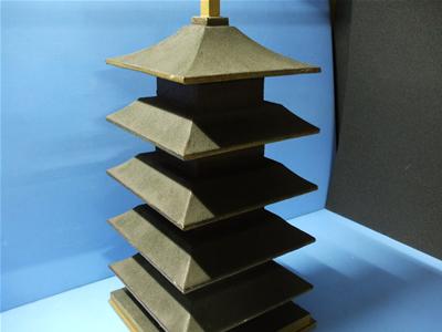 五重の塔をイメージした造形品