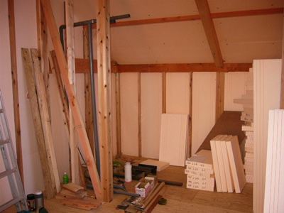 壁用断熱材施工事例