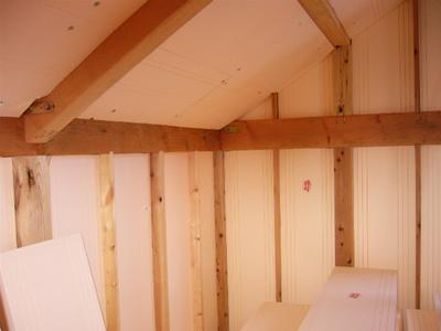 屋根用・妻壁断熱材施工事例